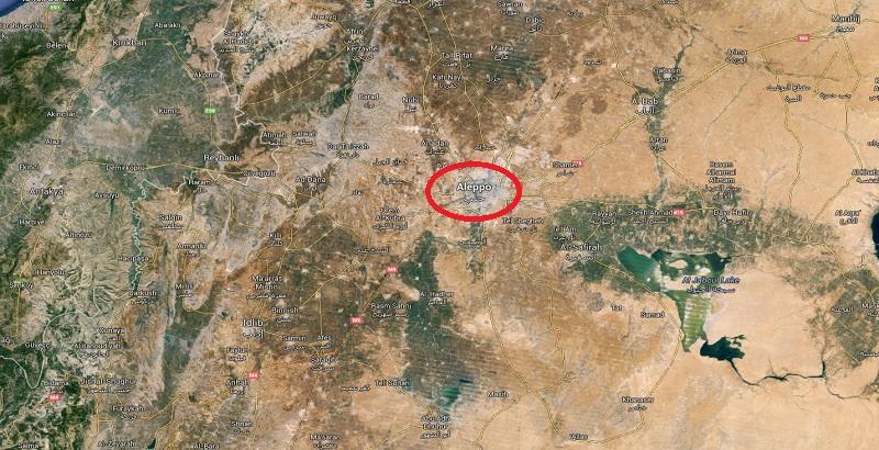 14 civilians killed by a terrorist rocket attack in Aleppo