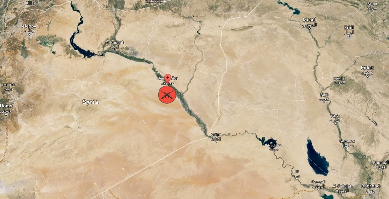Syrian Air Force pounds ISIS terrorist positions in Deir Ezzor