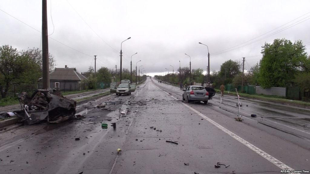 OSCE confirms the attack in the village in the Donetsk region, shelled from 122-mm guns