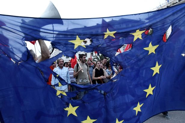 The Decline of the European Union