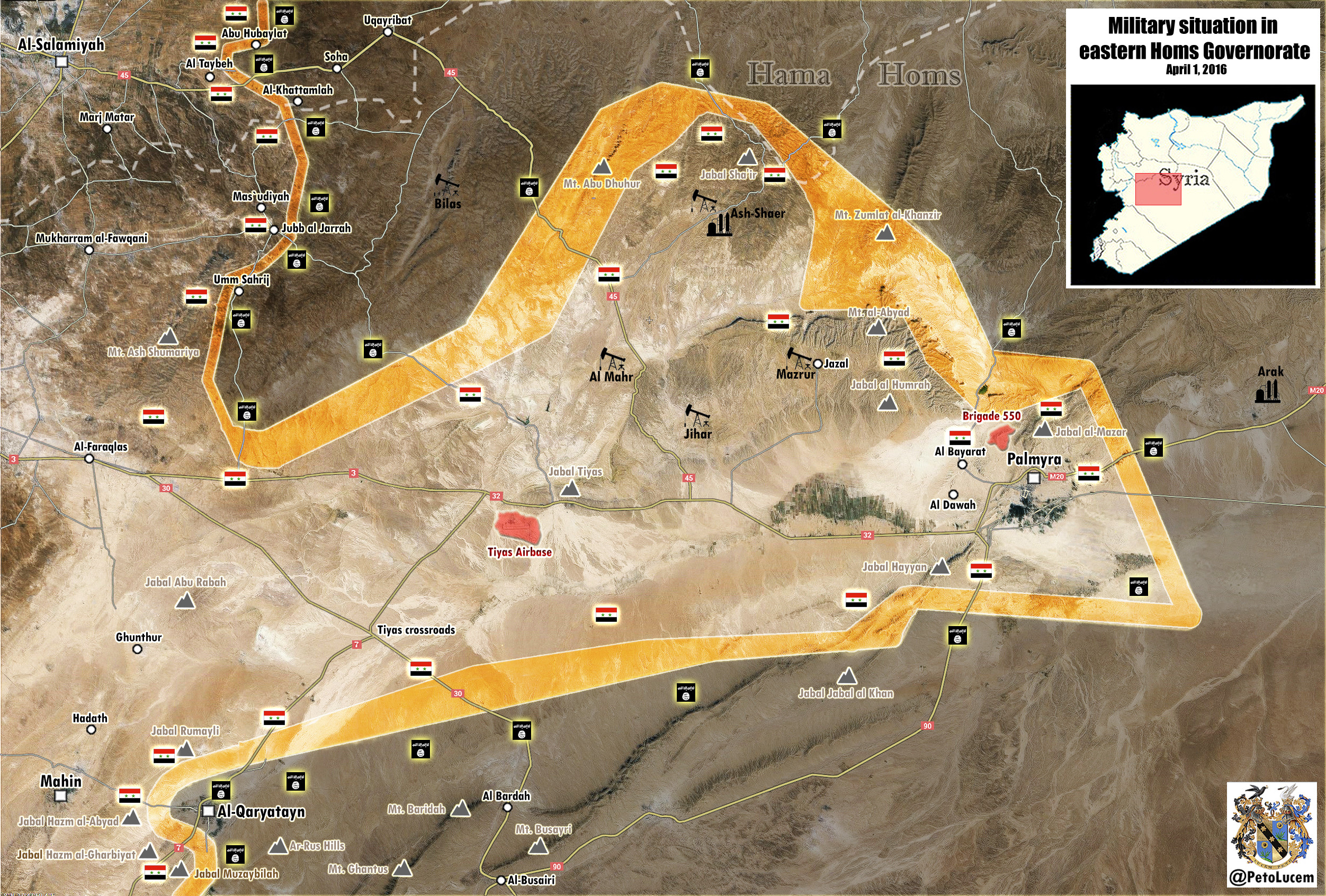 Palmyra to Deir Ezzor The Upcoming Campaign in Eastern Syria