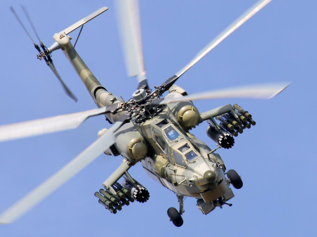 Russian Helicopter Crashes in Syria's Homs. 2 Pilots Die