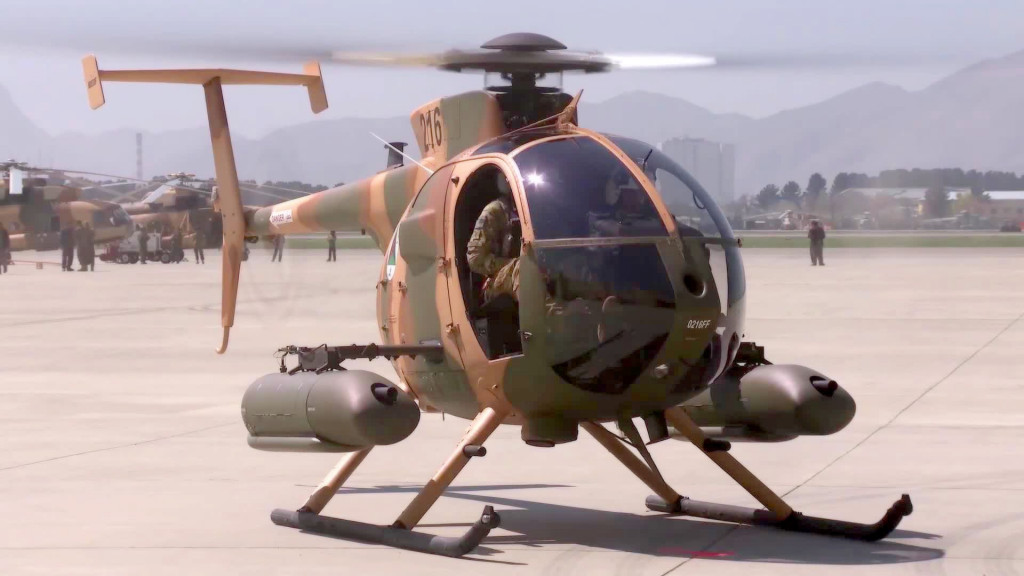 Afghan Air Force Criticize US Made MD Helicopters