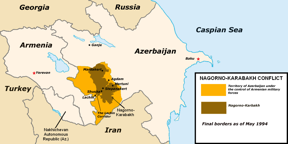 Dozens of Casualties Reported as Situation in the Nagorno-Karabakh region and on the border between Armenia and Azerbaijan deteriorates