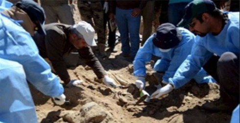 Mass grave of ISIS victims found in Palmyra