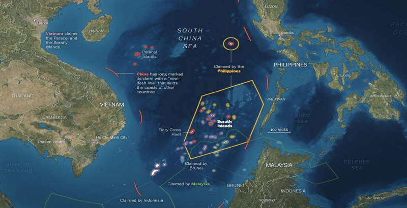 Xi Jinping tells Obama to stay away from Spratlys
