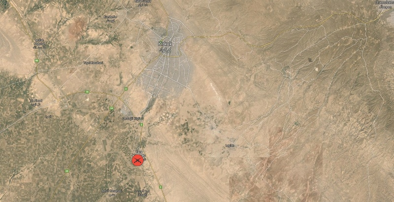 Iraq's popular forces advance in Kirkuk's Taza region