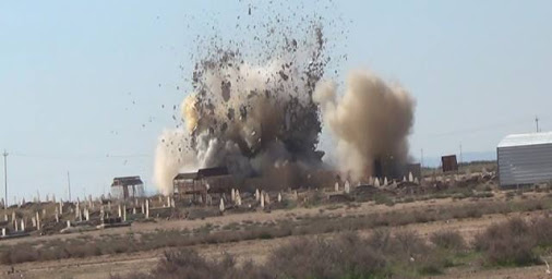 30 ISIS terrorists killed in Iraq for a defect in an explosive belt