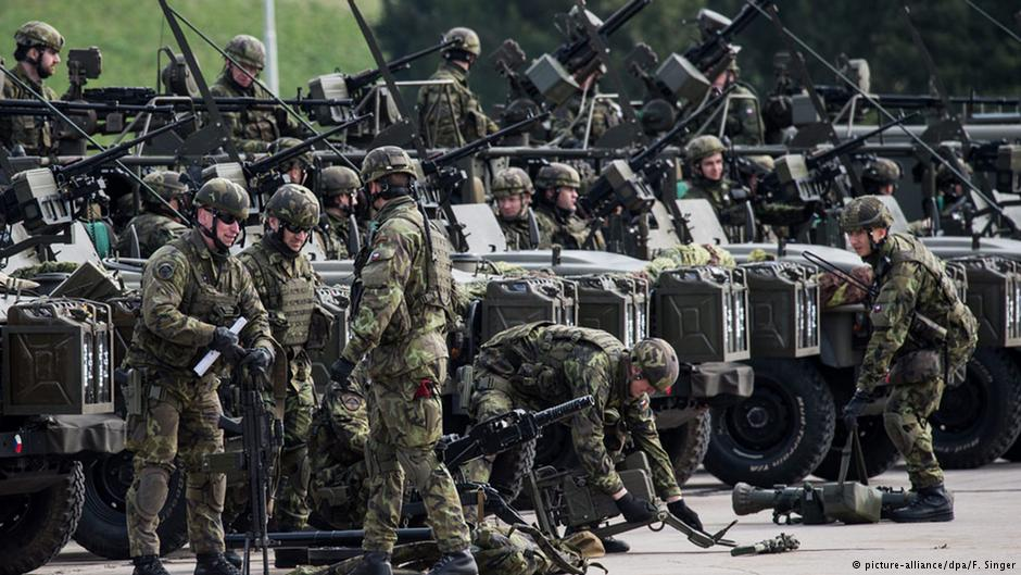 Escalations in a New Cold War. US-NATO Military Deployments on Russia's Borders