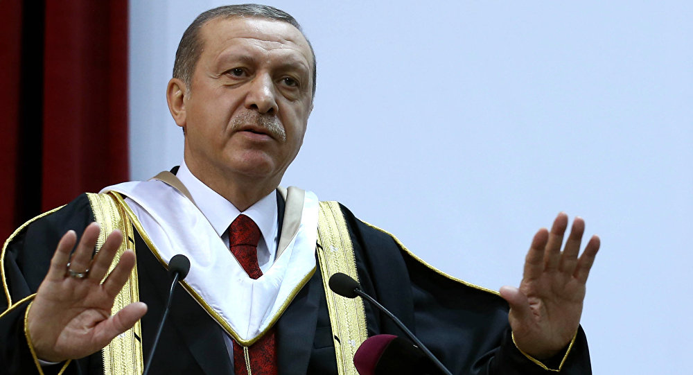 Erdogan Threatens Merkel with the Termination of the Refugee Deal