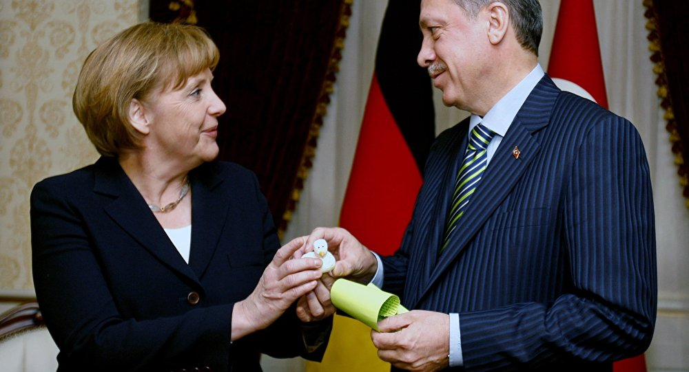 Germans Do Not Believe in Merkel's Deal with Turkey