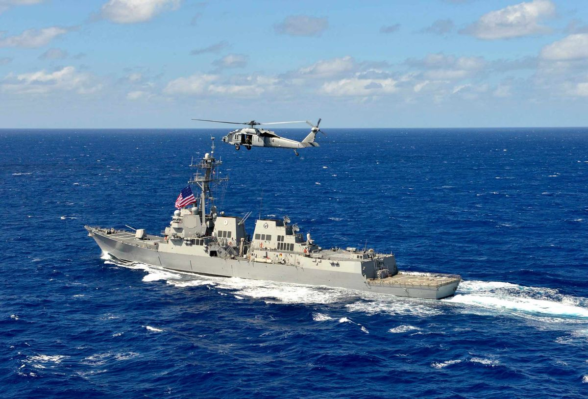 China Opposes US patrols in South China Sea