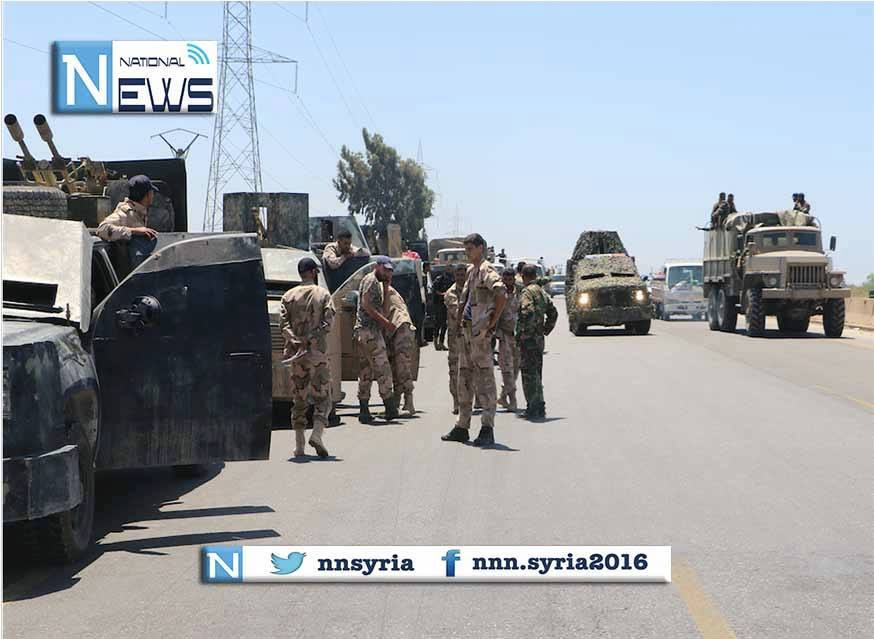 Syrian Army joins the race to Raqqa as several thousand soldiers pour into east Hama