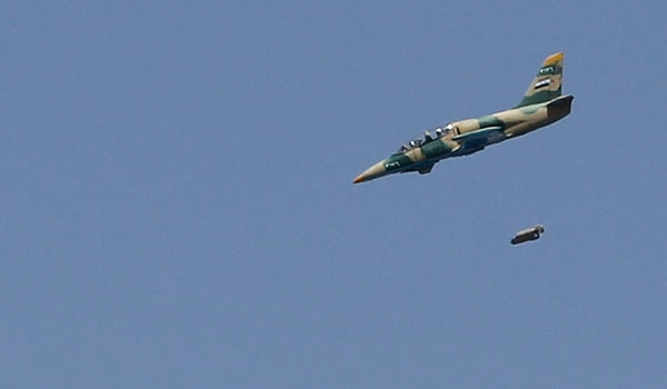 Syrian Warplanes Bomb Militants in Homs Province