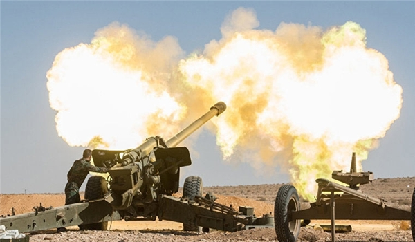 Syria's Amry Destroys ISIS Convoy in Sweida