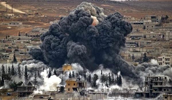 Syria: Russian Warplanes Target ISIS at Raqqa