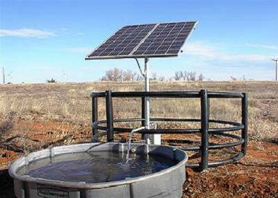 Syria: Solar powered well water available to residents in besieged Deir Ezzor