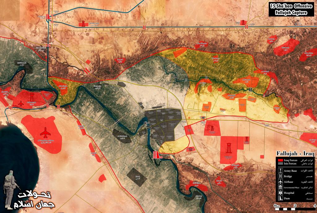 Battle for Fallujah, Iraq - Day 2