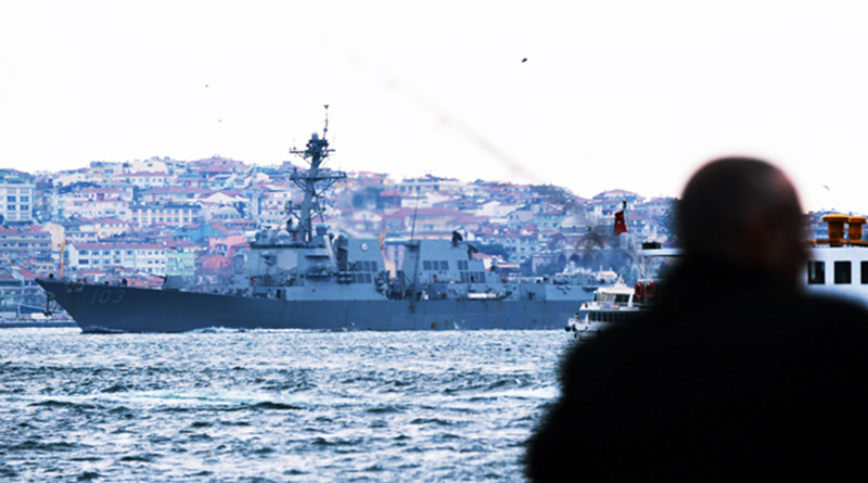 The Bottleneck of the Black Sea Straits