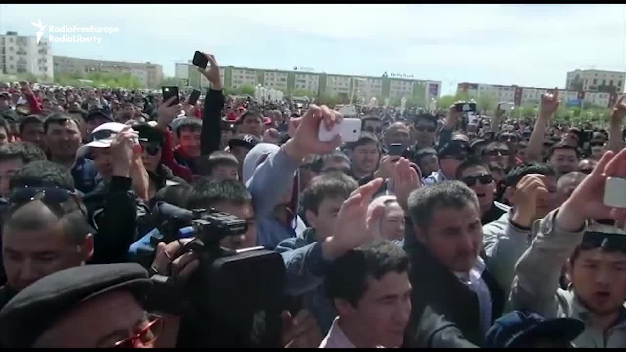 Anti-Government Protests in Kazkhstan