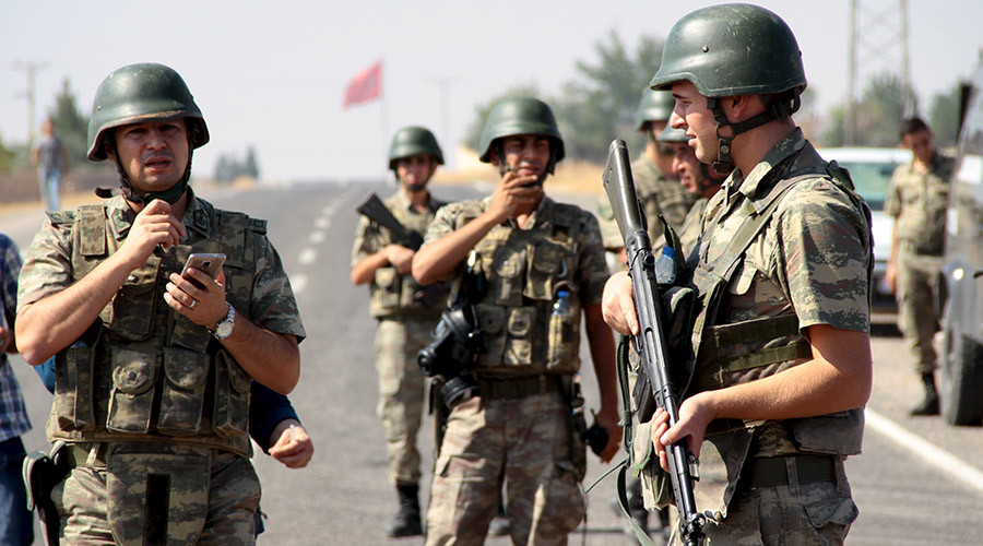 Prime Minister: Turkey Is Ready to Send Ground Troops to Syria
