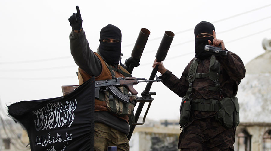 Members of al Qaeda's Nusra Front. © Khalil Ashawi / Reuters