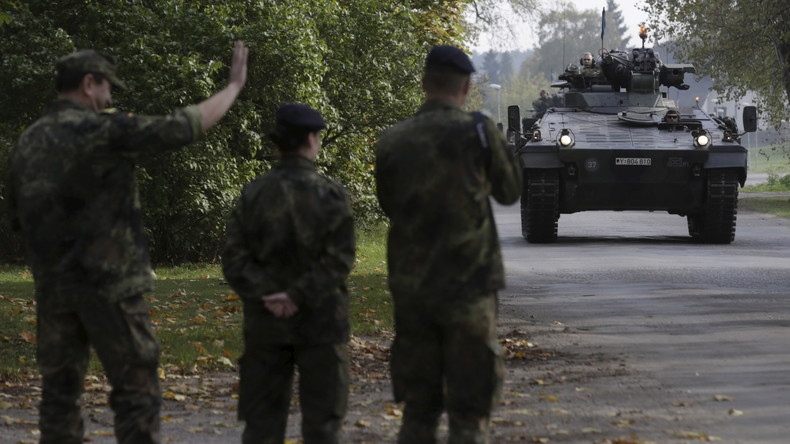 """German Armed Forces to """"Rotate"""" on the Russian Border"""