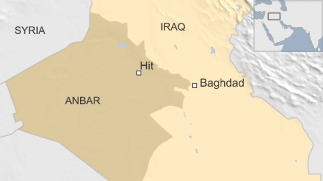 Iraq's Forces Find ISIS Chemical Plan in Town of Hit