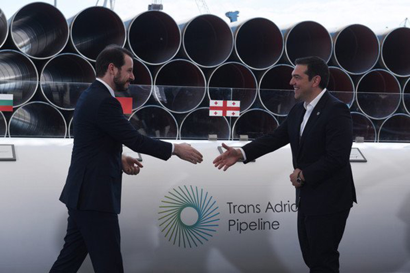 Construction of a Pipeline: Greece has to Remain in the Euro