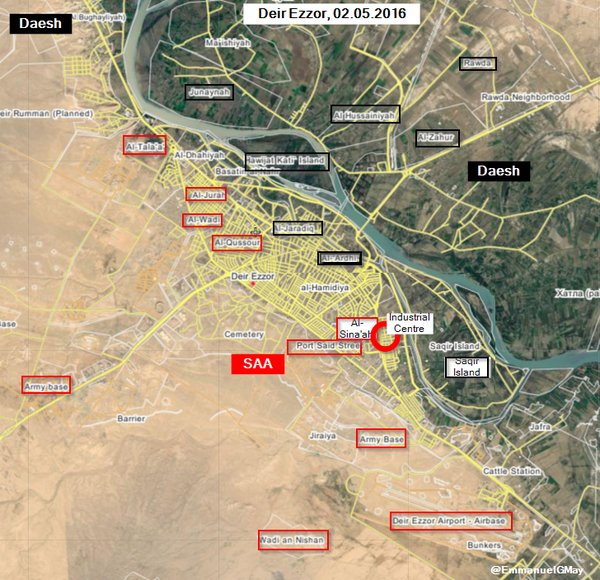 Syria's Army Gains More Ground in Deir Ezzor City