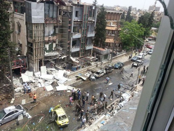 Dozens of Casualties in Terrorist Missile Attack on Aleppo Hospital