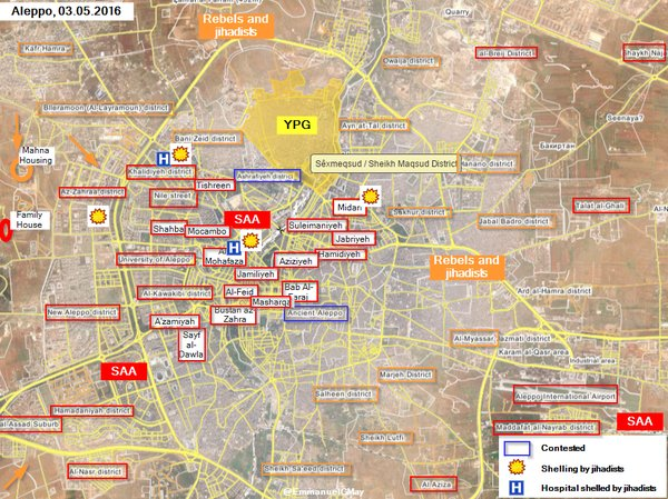 Military Situation in Aleppo City after the Failed Militants' Offensive