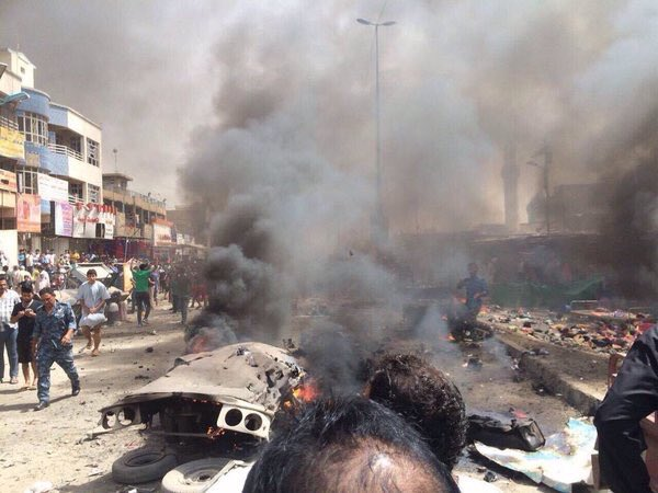 Car Bombing Kills 50, Injures 60 in Baghdad, Iraq (Photo-report)