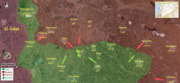 Syria's Forces Advance against Militants near Damascus