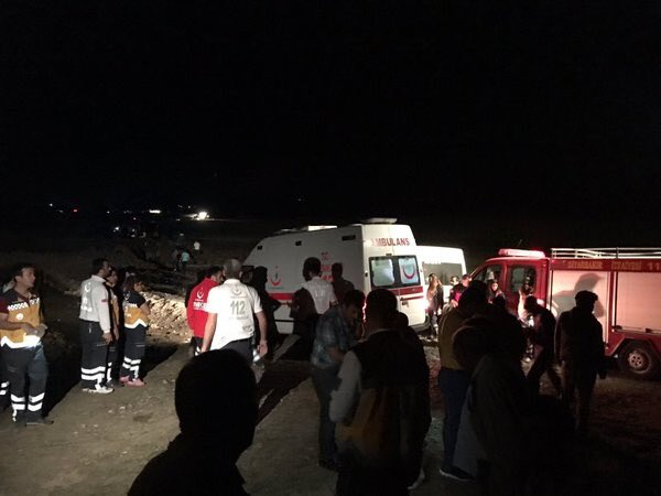 Massive explosion rocks southeast Turkey