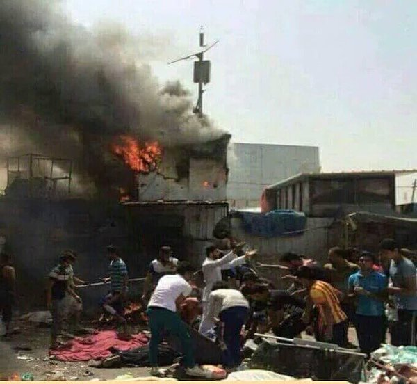 Twin Bomb Blasts in Baghdad Leave at least 44 killed, 90 injured