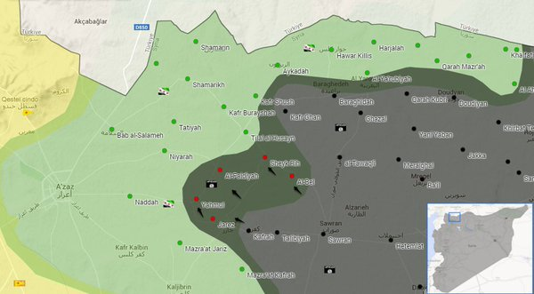 ISIS Captures 5 More Villages in Northern Aleppo, Syria