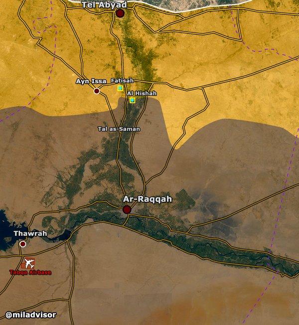 SDF Seizes More Villages in Northen Raqqa, Syria