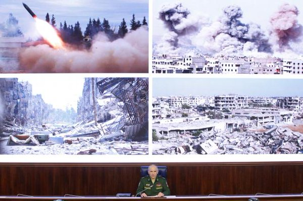 Russia Restores and Intensifies Airstrikes against Al Nusra