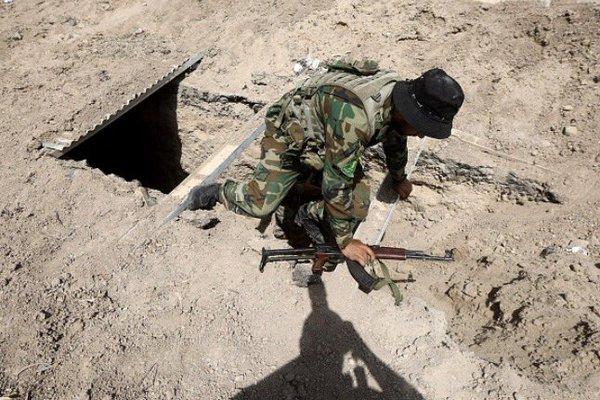 Shia Militia Unearths ISIS Tunnels Near Iraq's Fallujah (Video)