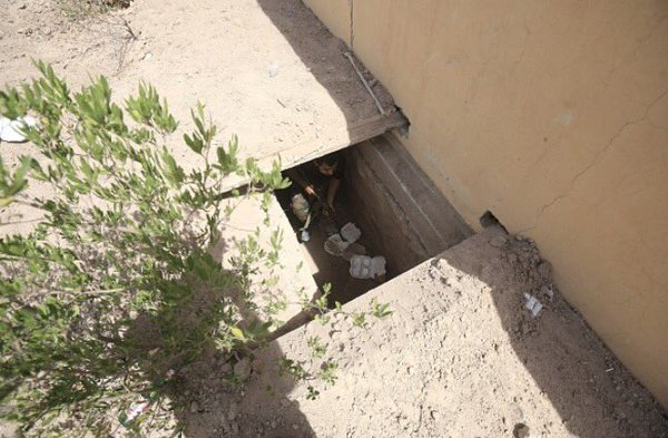 Shia Militia Unearths ISIS Tunnels Near Iraq's Fallujah (Video)