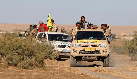 Kurds Seized Qartaj Village in Northern Raqqa, Syria