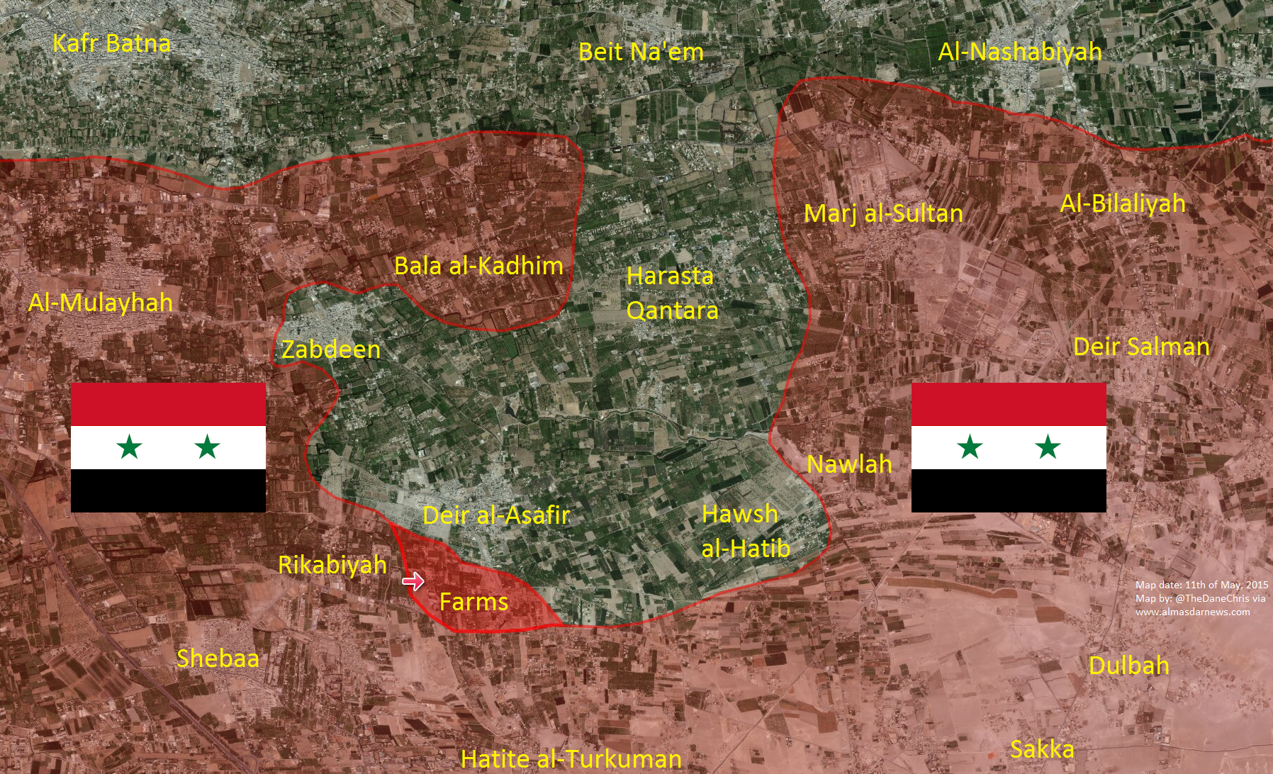 Syria's Army captures Rikabiyah Farms in new East Ghouta advance