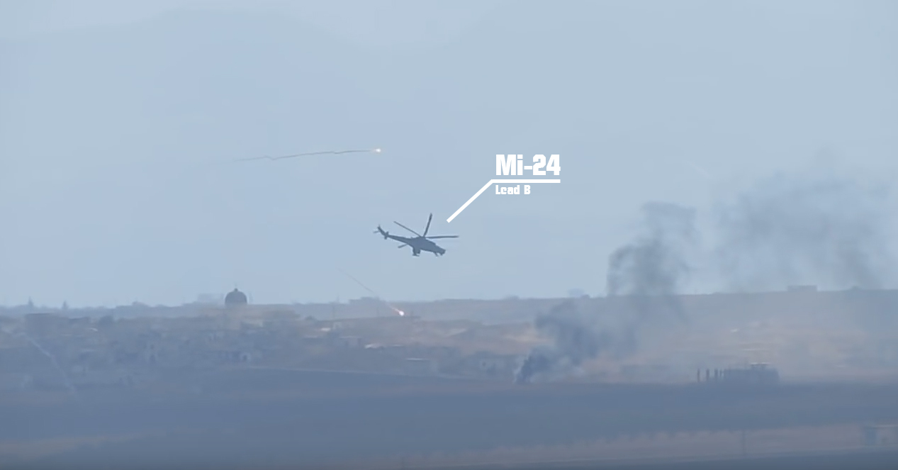 The Mi-24 in Action over Syria