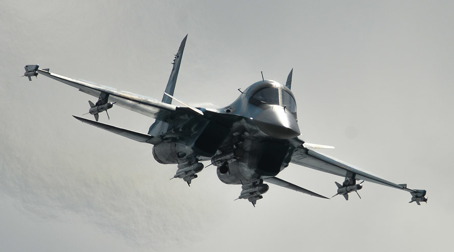 Russian Air Force pounds northern Palmyra amid the Syrian Army's advance