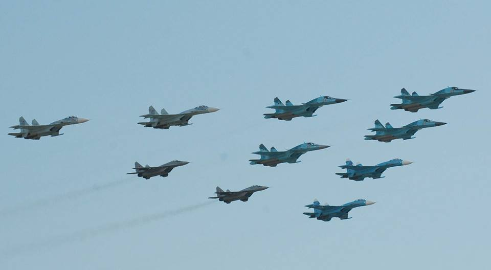 Russian Air Force overwhelms ISIS at the Al-Sha'ar Gas Fields