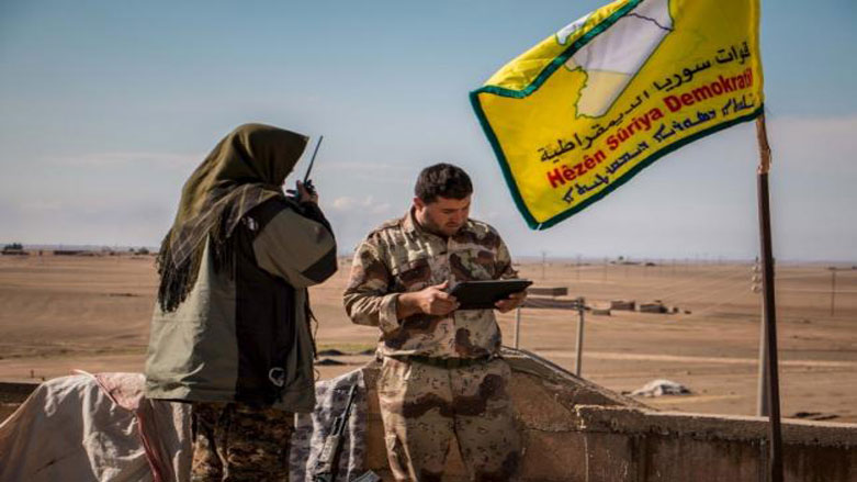 Syrian Democratic Forces Mass Troops and Equipment for Raqqa Offensive (Video)
