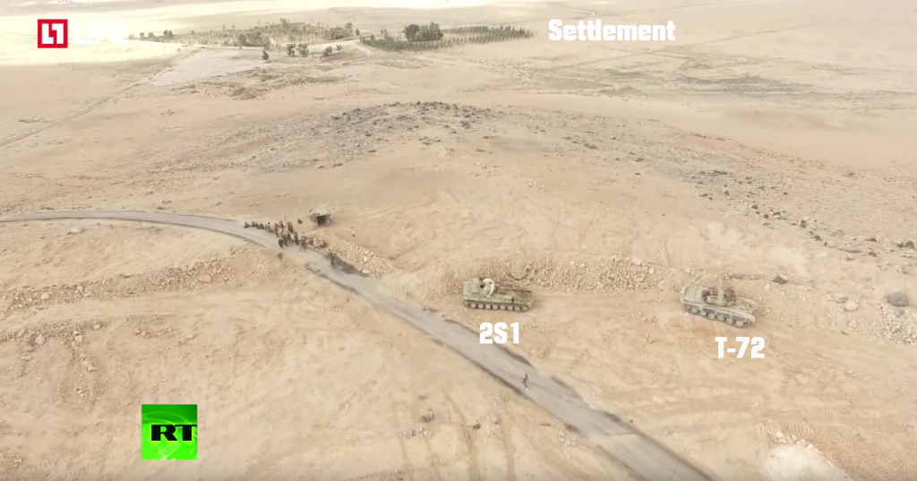 Syrian Arab Army Tactics in the Countryside