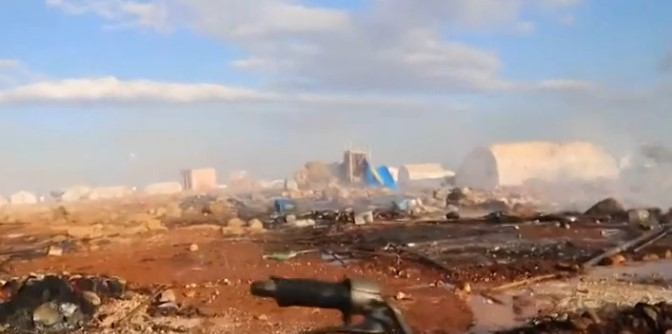 Syria: Bombing in Refugee Camp Kills 30, Injures 80 (Video)