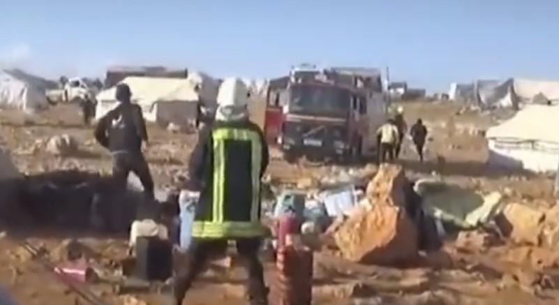 Russian MoD: Al-Nusra behind Aleppo Refugee Camp Attack